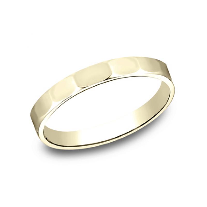 BENCHMARK Ladies 14k Yellow Gold Wedding Band 72025Y