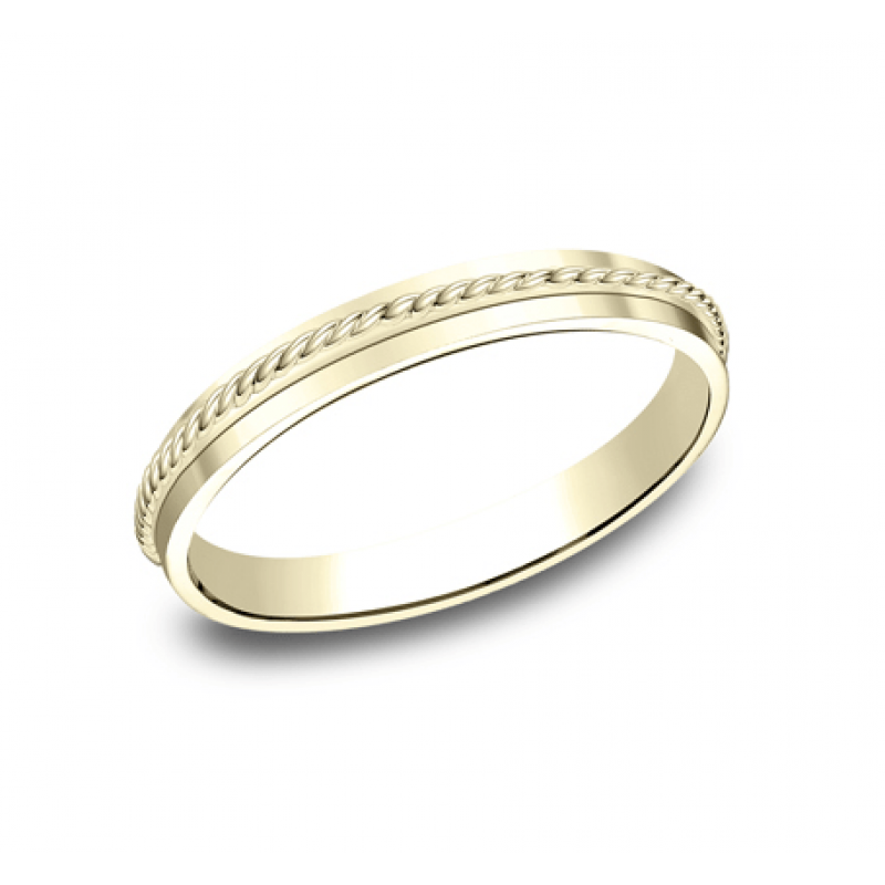 BENCHMARK Ladies 14k Yellow Gold Wedding Band 72015Y