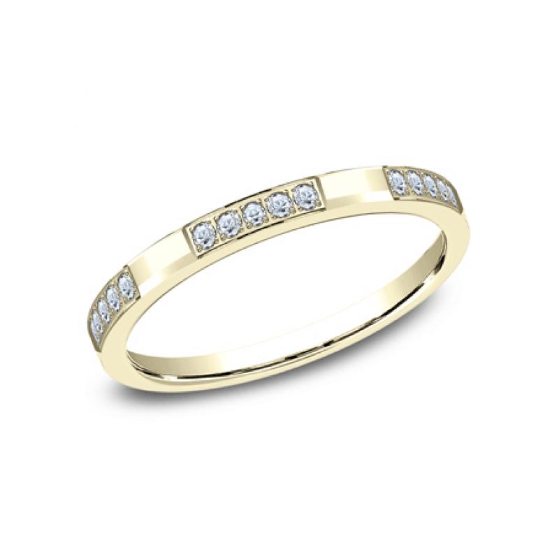 BENCHMARK Ladies 14k Yellow Gold Wedding Band 522850Y