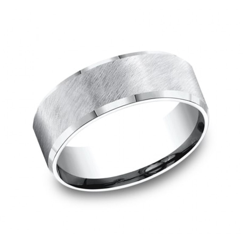 FORGE Mens Cobalt Wedding Band CF68587CC