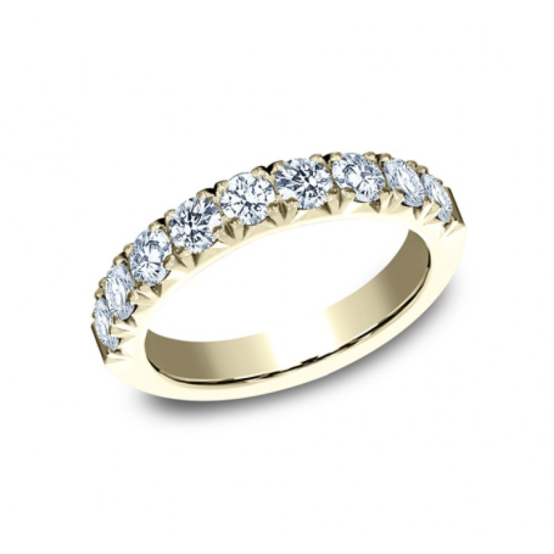 BENCHMARK Ladies Yellow Gold Wedding Band 593184Y