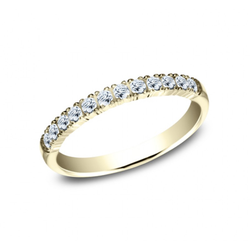 BENCHMARK Ladies Yellow Gold Wedding Band 592248LGY