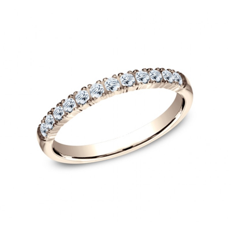 BENCHMARK Ladies Rose Gold Wedding Band 592248R