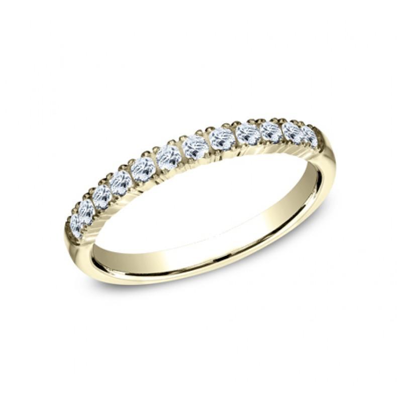 BENCHMARK Ladies Yellow Gold Wedding Band 592248Y