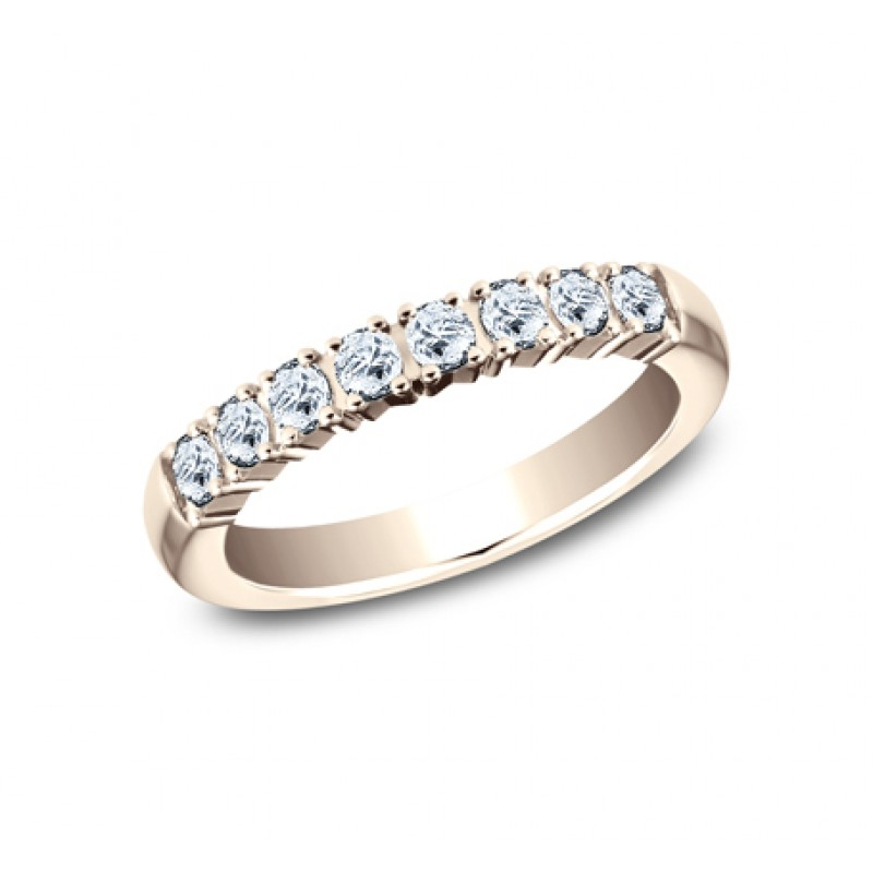 BENCHMARK Ladies Rose Gold Wedding Band 5925258LGR