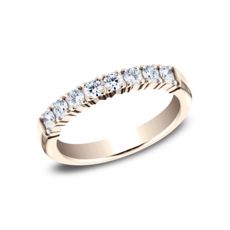 BENCHMARK Ladies Rose Gold Wedding Band 5925268LGR