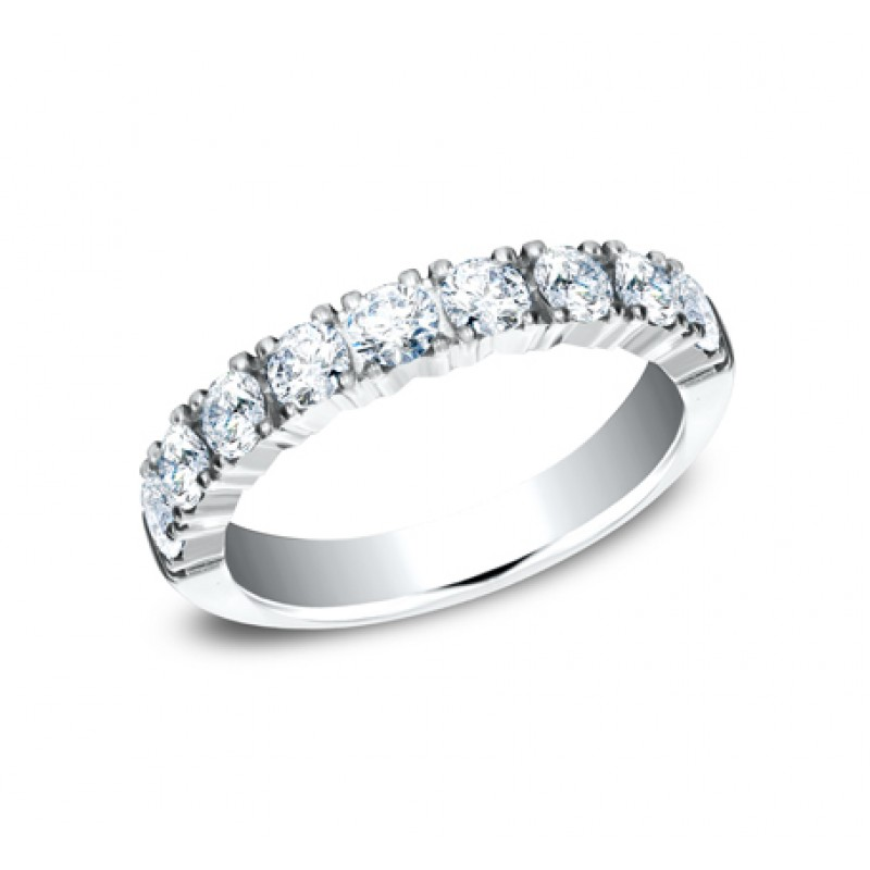 BENCHMARK Ladies White Gold Wedding Band 593288LGW
