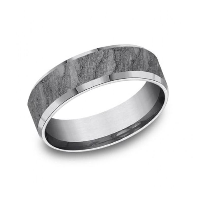 FORGE Mens Tantalum Wedding Band CF847626GTA