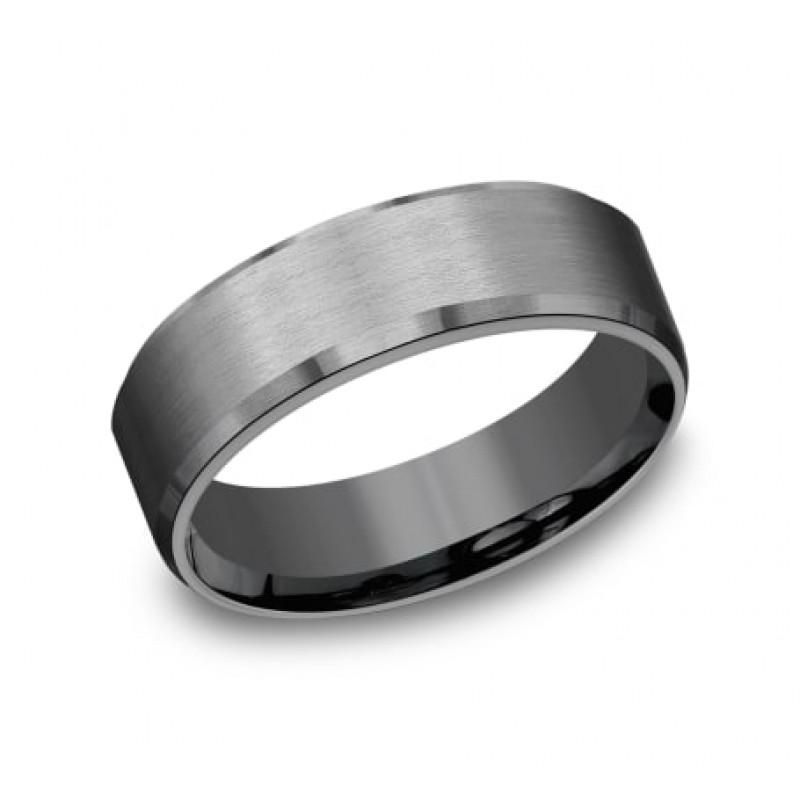 FORGE Mens Tantalum Wedding Band CF67335TA