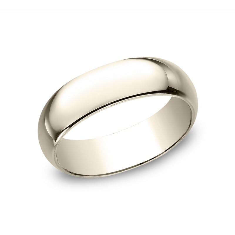 BENCHMARK Mens Rose Gold Wedding Band 170R
