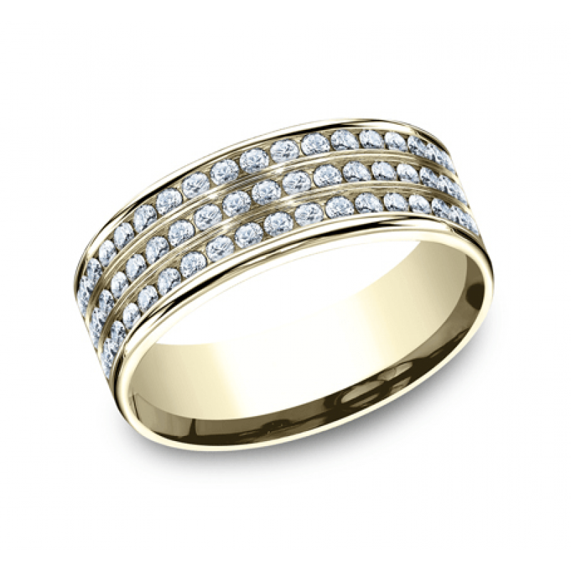 BENCHMARK Ladies Yellow Gold Wedding Band CF528556Y