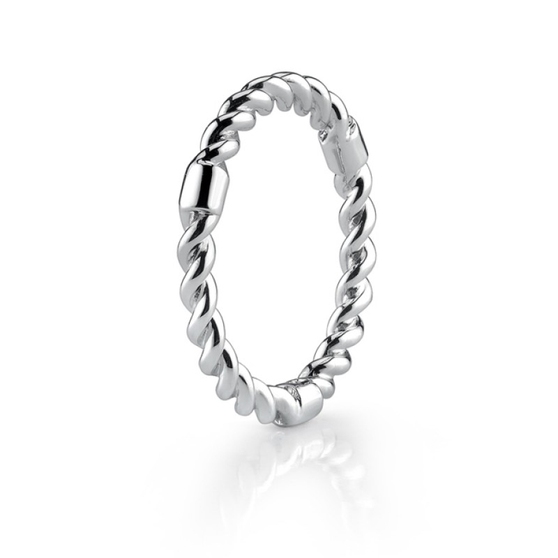 2.5mm Twisted Carved Band