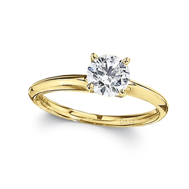 Round Brilliant Cut Diamond Solitaire
