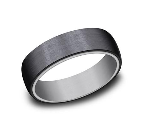 FORGE Mens Tantalum Wedding Band RIRCF126561BKTGTA