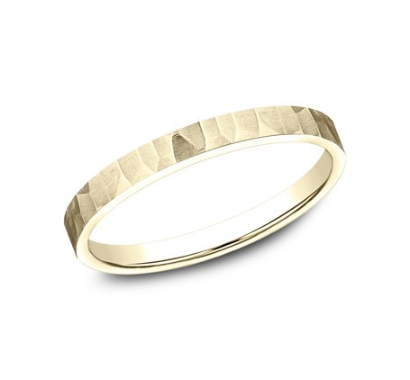BENCHMARK Ladies Yellow Gold Wedding Band 62763Y