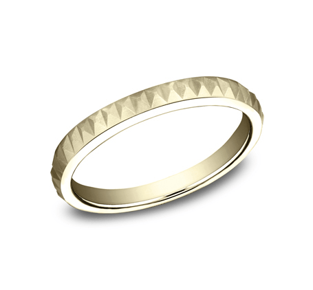 BENCHMARK Ladies Yellow Gold Wedding Band 62325Y