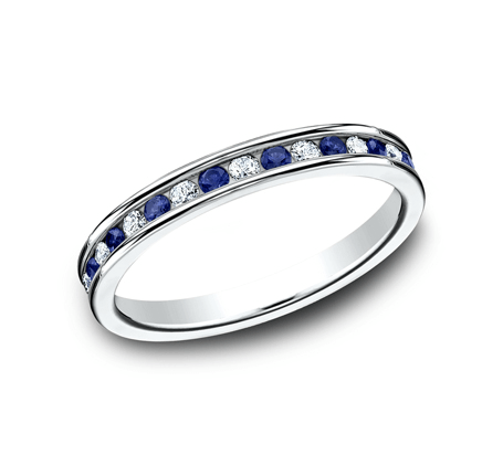 BENCHMARK Ladies 14k White Gold Wedding Band 513561W