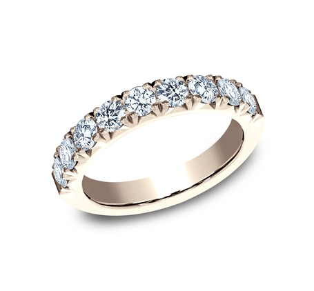 BENCHMARK Ladies Rose Gold Wedding Band 593184R