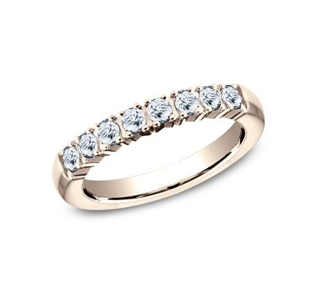 BENCHMARK Ladies Rose Gold Wedding Band 5925258R