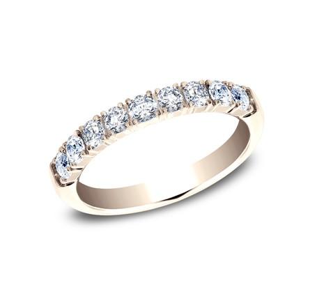 BENCHMARK Ladies Rose Gold Wedding Band 593277LGR