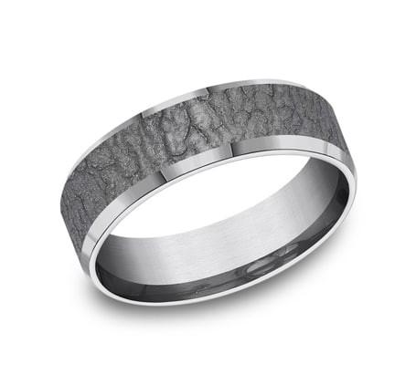 FORGE Mens Tantalum Wedding Band CF847620GTA