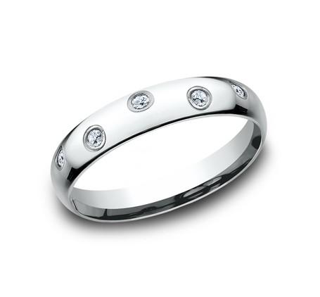 BENCHMARK Ladies White Gold Wedding Band CF514131W