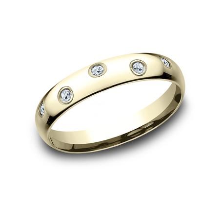 BENCHMARK Ladies Yellow Gold Wedding Band CF514131Y