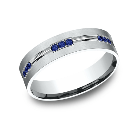 FORGE Mens Platinum Wedding Band CF526535PT