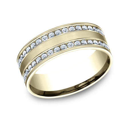BENCHMARK Ladies Yellow Gold Wedding Band CF528551Y
