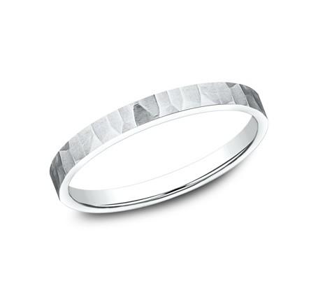 BENCHMARK Ladies 14k White Gold Wedding Band 492763W