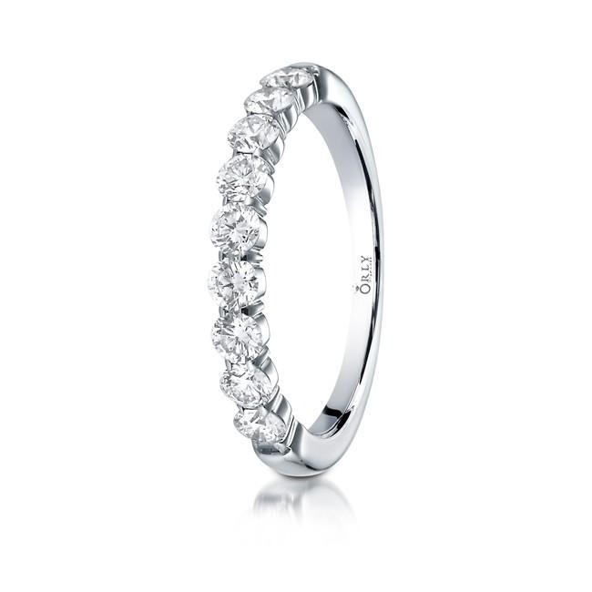 Diamond Shared Prong Band .72 carat total weight