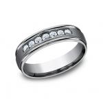 FORGE Mens Tantalum Wedding Band RECF516516LGGTA