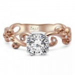Rose Gold Diamond Ring