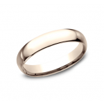 CLASSIC Mens Rose Gold Wedding Band LCF140R