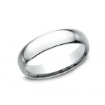 BENCHMARK Mens Platinum Wedding Band LCF150PT
