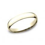 CLASSIC Mens 14k Yellow Gold Wedding Band SLCF130Y