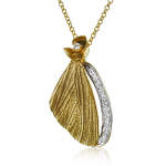 18K GOLD YELLOW DP270-Y PENDANT