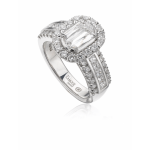 L'amour Diamond Ring 1.81 carats tw