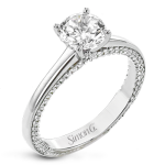 SIDE HUSTLE ENGAGEMENT RING LR2460-RD