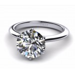 Round Brilliant Cut Diamond Solitaire 1.01 carats