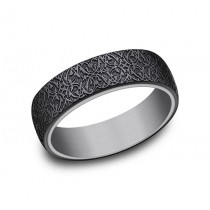 FORGE Mens Tantalum Wedding Band RIRCF1265845BKTGTA