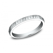 BENCHMARK Ladies White Gold Wedding Band 62325W