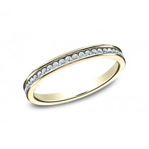 BENCHMARK Ladies 14k Yellow Gold Wedding Band 512514Y