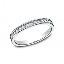 BENCHMARK Ladies 14k White Gold Wedding Band 513523W