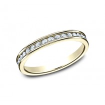 BENCHMARK Ladies 14k Yellow Gold Wedding Band 513523Y