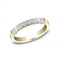 BENCHMARK Ladies Yellow Gold Wedding Band 5925364LGY