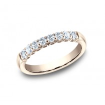 BENCHMARK Ladies Rose Gold Wedding Band 5925364R