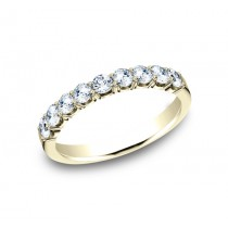 BENCHMARK Ladies Yellow Gold Wedding Band 5935643LGY