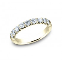 BENCHMARK Ladies Yellow Gold Wedding Band 593664LGY