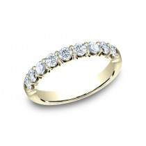 BENCHMARK Ladies Yellow Gold Wedding Band 593664Y